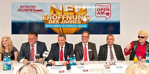 Höffner Eröffnungsfeier In Gründau Lieblos Moebelkulturde