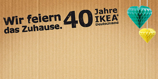 ikea rekordzahlen zum 40 geburtstag in deutschland. Black Bedroom Furniture Sets. Home Design Ideas