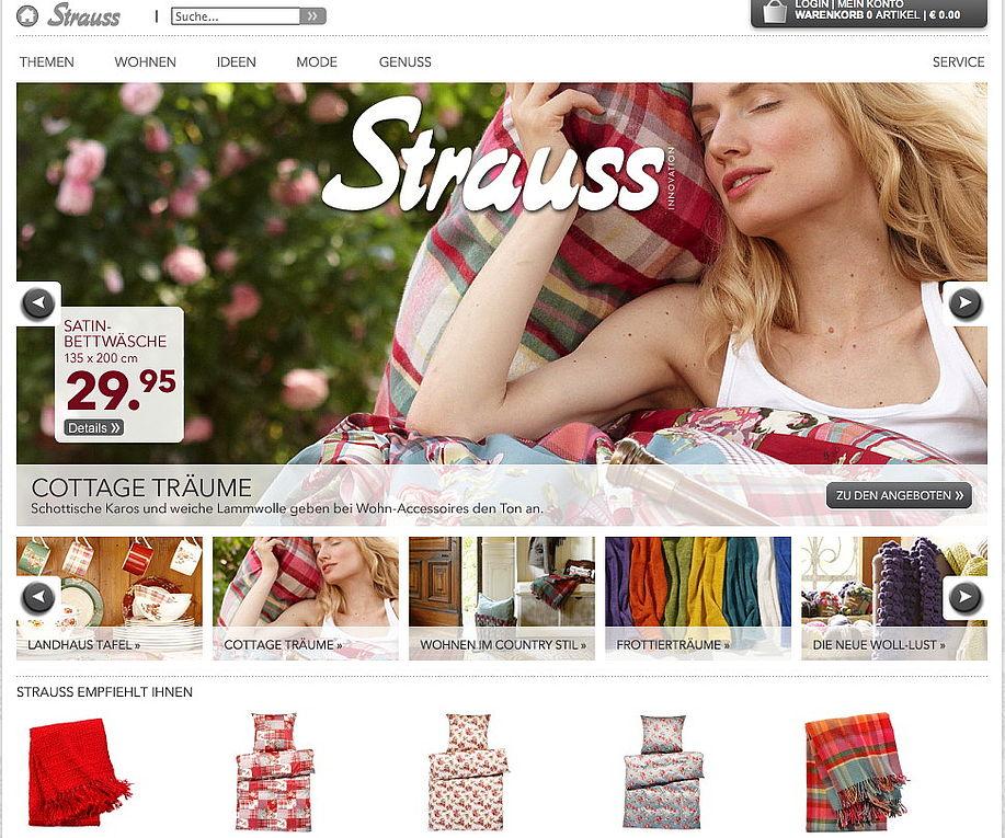 Strauss Innovation Nächster Filialist Startet Mit Online Shop