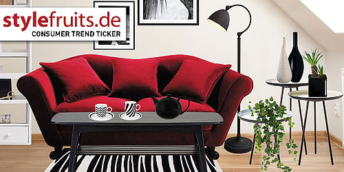 consumer trend ticker manege frei das rote sofa als star des wohnzimmers. Black Bedroom Furniture Sets. Home Design Ideas