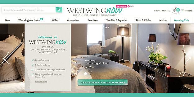 westwing offener onlineshop l uft in der testphase. Black Bedroom Furniture Sets. Home Design Ideas