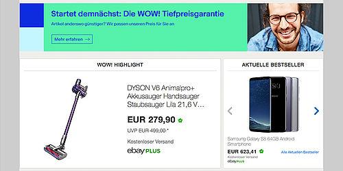 ebay startet tiefpreisgarantie f r mehr als produkte in deutschland. Black Bedroom Furniture Sets. Home Design Ideas