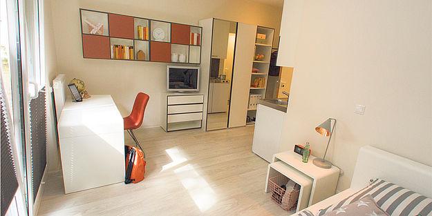 dodenhof wohnungen f r die mitarbeiter gebaut. Black Bedroom Furniture Sets. Home Design Ideas