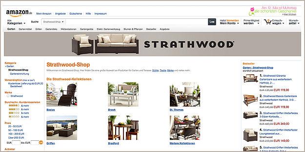 amazon m bel urknall mit der eigenmarke strathwood. Black Bedroom Furniture Sets. Home Design Ideas
