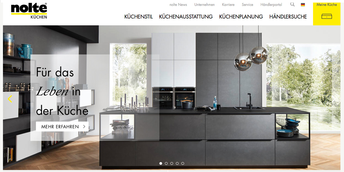 Nolte Küchen - Präsentiert sich auf der CIKB 2017 in ...