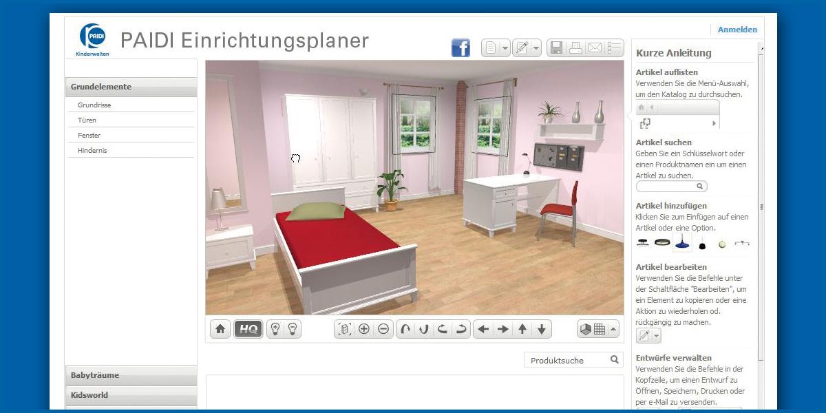 Kinderzimmer Einrichten E | Paidi Online Das Eigene Kinderzimmer Einrichten Moebelkultur De