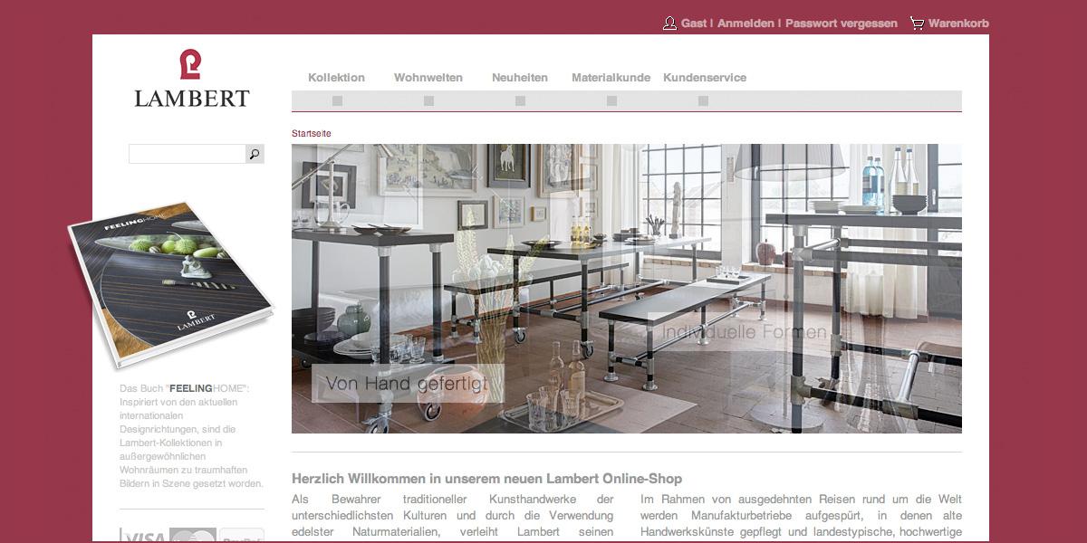 lambert vorhang auf f r eigenen online shop. Black Bedroom Furniture Sets. Home Design Ideas