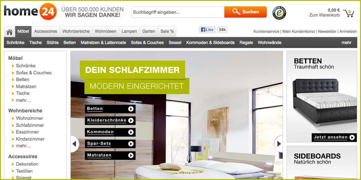 Home24 Will Jetzt Auch In Der Schweiz Durchstarten Moebelkulturde