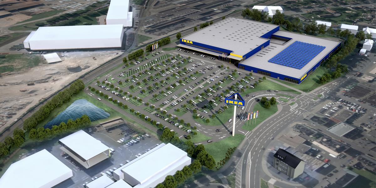 Ikea - So soll der Standort in Wetzlar aussehen