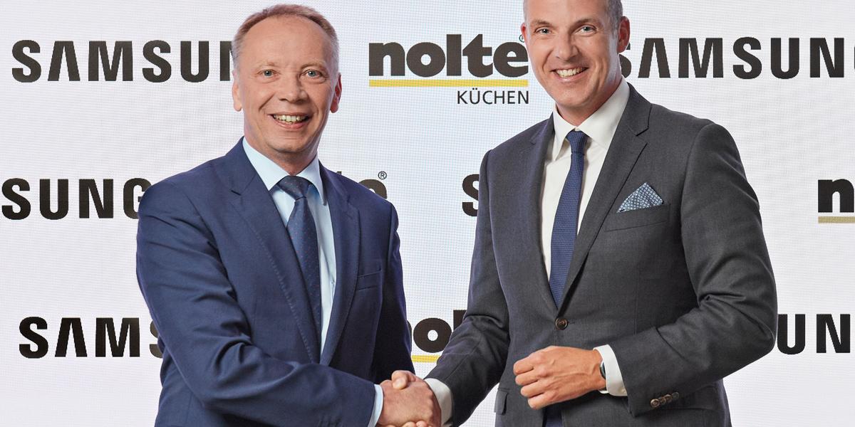 Nolte Kuchen Und Samsung Verkunden Vertriebspartnerschaft Auf Der