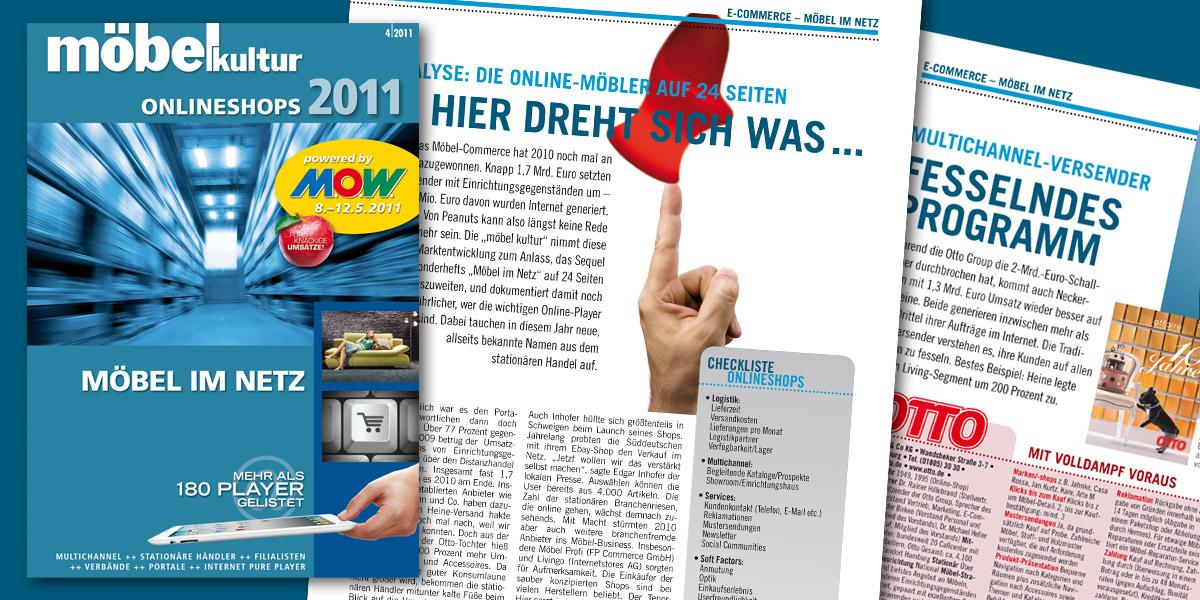 Möbel Im Netz 2011 24 Seitiges Sonderheft über Den Online