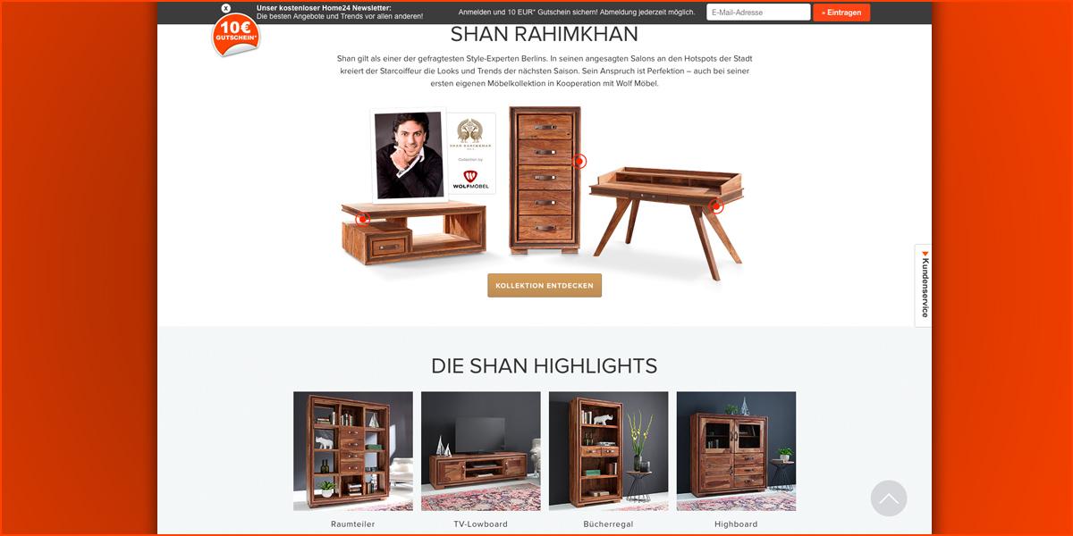 Home24 Sichert Sich Online Exklusiv Die Shan Rahimkhan Kollektion
