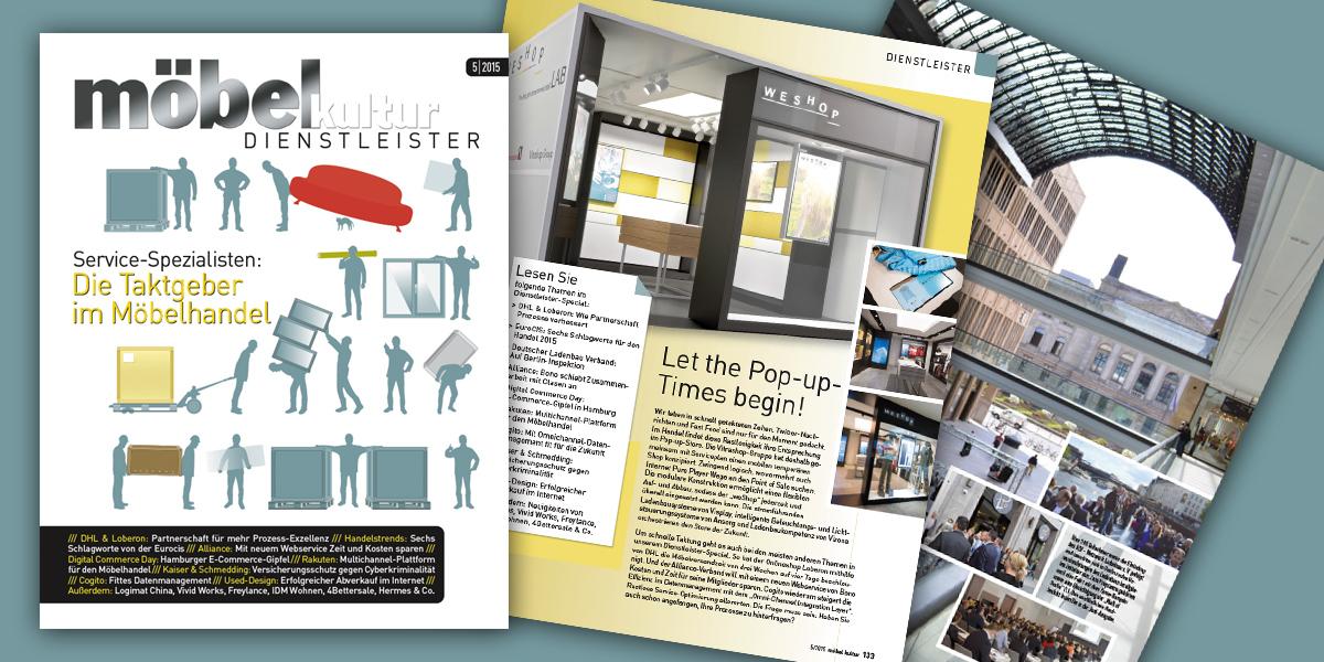 Möbel Kultur Das Große Dienstleister Special In Der Mai Ausgabe