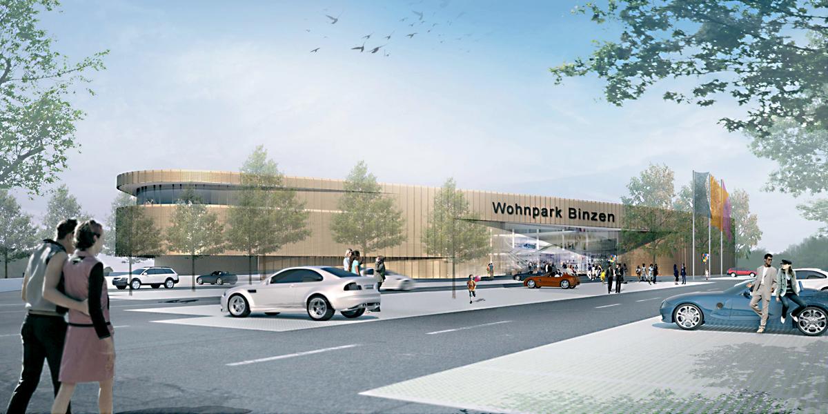 Wohnpark Binzen Heute Große Eröffnung Moebelkulturde