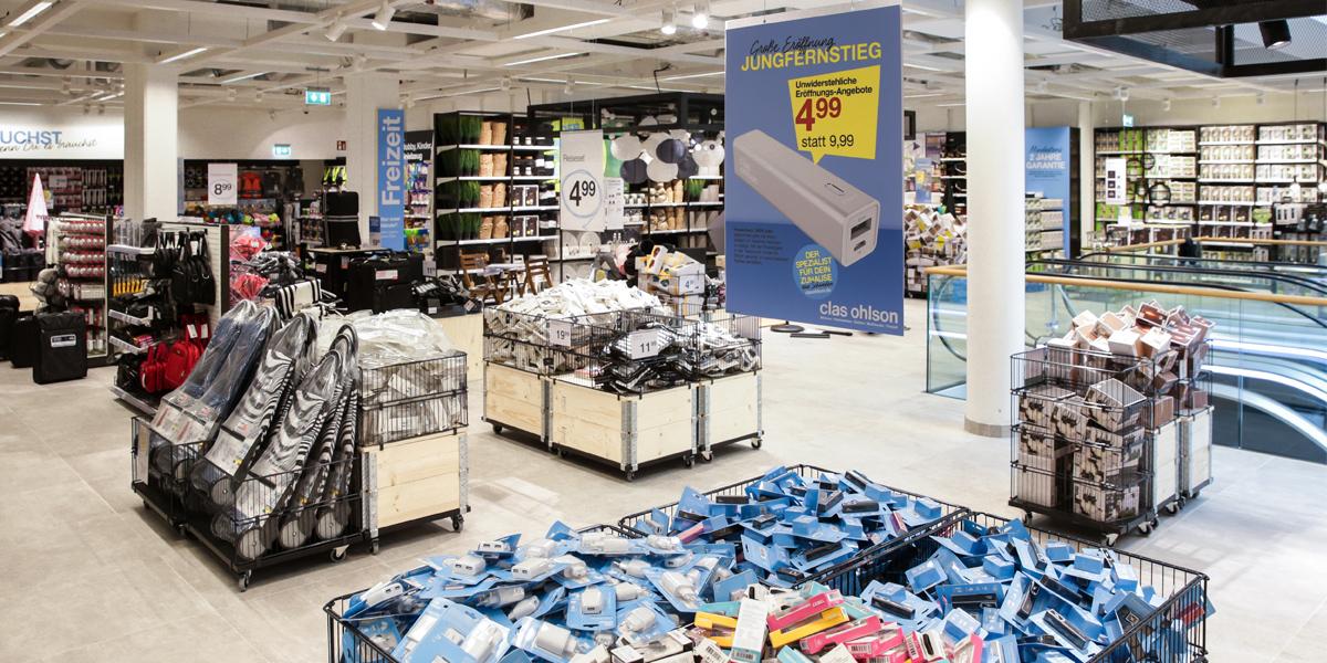 d8cf8bc3b722af Clas Ohlson - Eröffnet dritten Store in Hamburg - moebelkultur.de