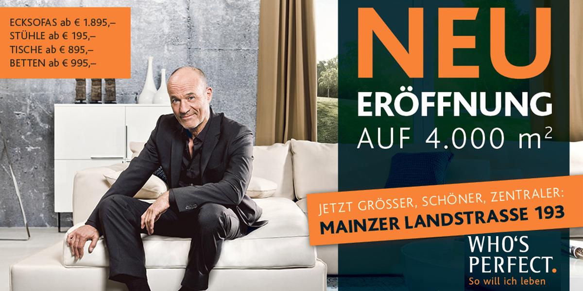 Whos Perfect Neuer Frankfurter Store Mit 4000 Qm Fläche