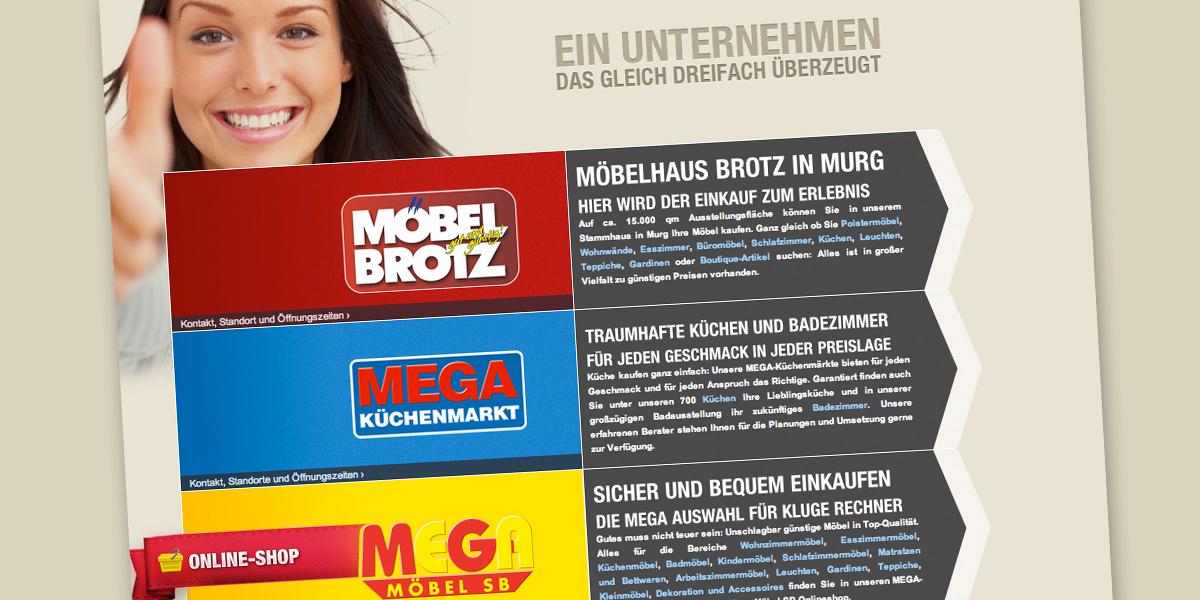 brotz gruppe neuer mega m bel sb markt in stuttgart. Black Bedroom Furniture Sets. Home Design Ideas