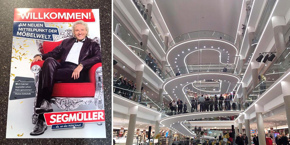 Segmuller Heute Grosse Eroffnung In Pulheim Thomas Gottschalk Hat
