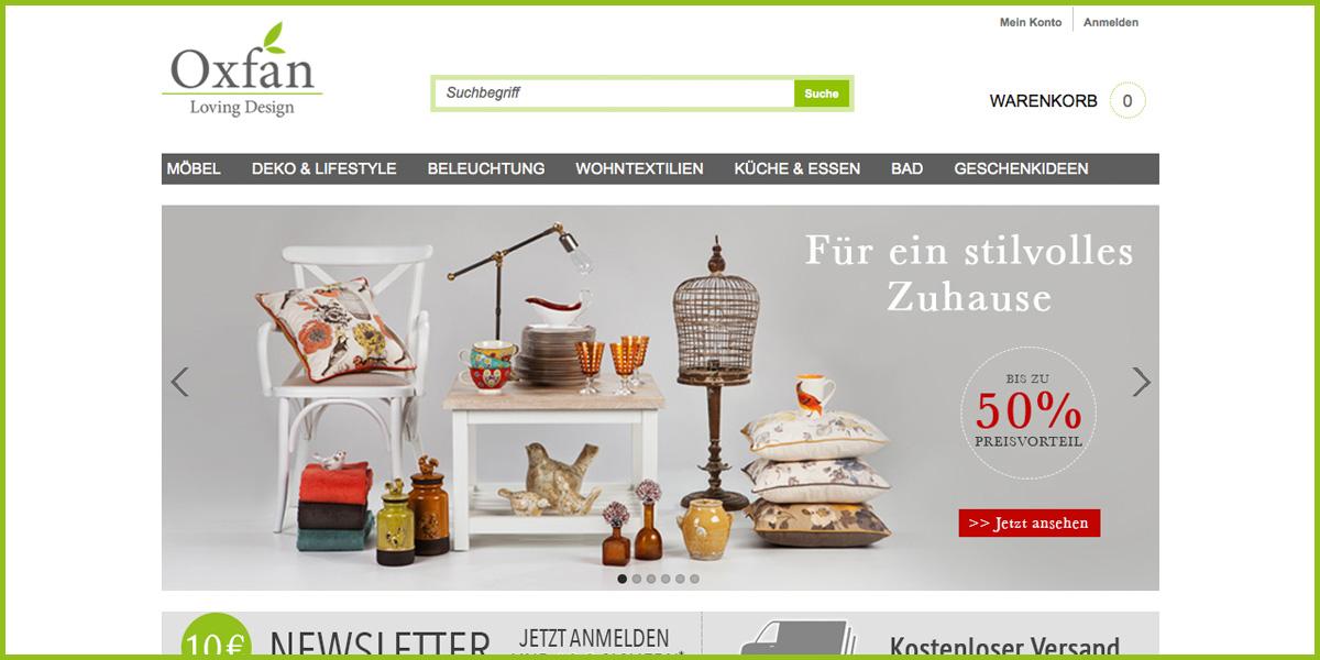 Oxfan Neuer Einrichtungsshop Mit Exklusivsortiment Moebelkulturde