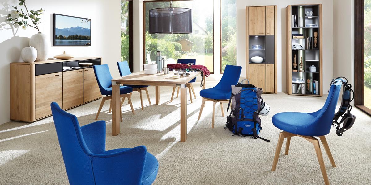 venjakob mit emilio und andiamo in halle 10 1. Black Bedroom Furniture Sets. Home Design Ideas