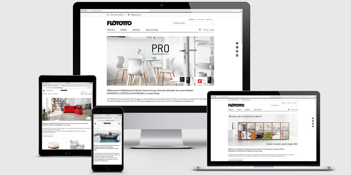 fl totto interior group erstmals gemeinsamer online shop f r fl totto authentics und sitting. Black Bedroom Furniture Sets. Home Design Ideas