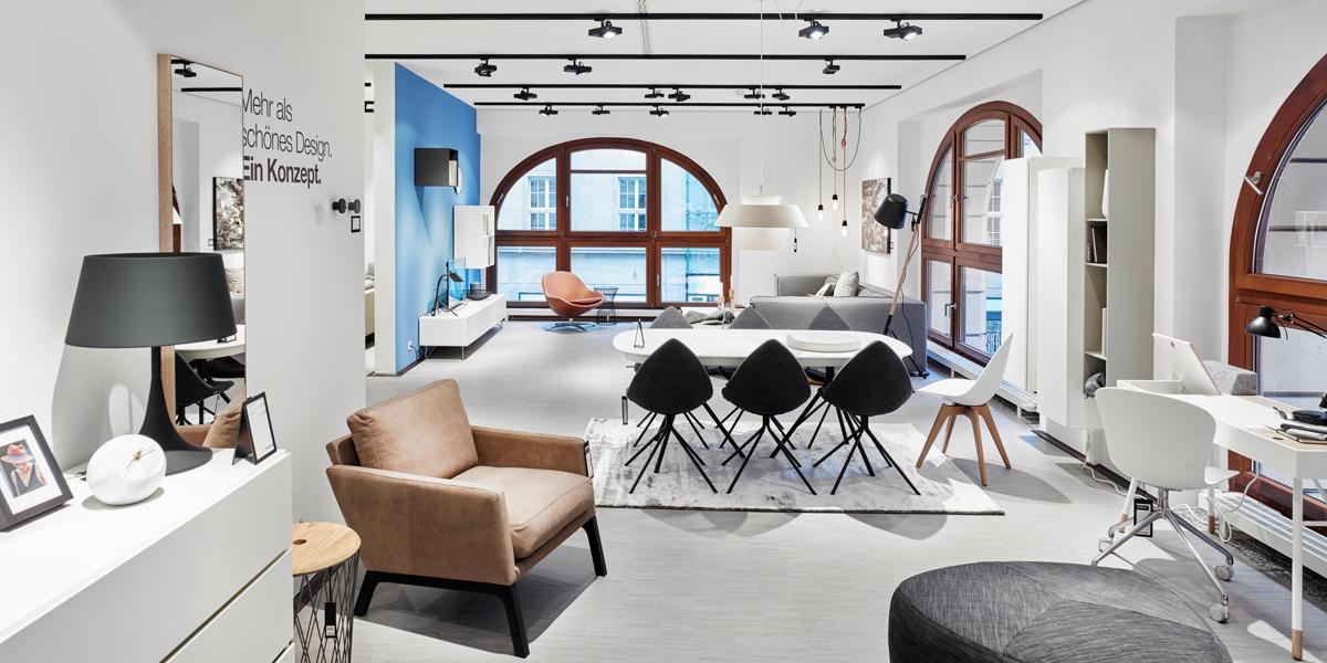 boconcept erster store in sachsen. Black Bedroom Furniture Sets. Home Design Ideas