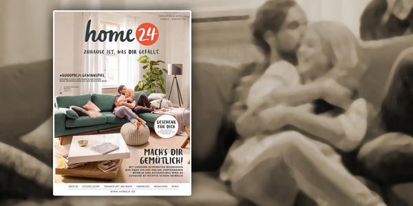 Home24 Neuer Katalog Für Herbstwinter 2017 Ist Draußen