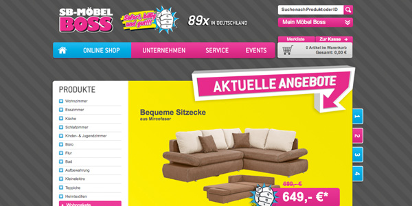 Sb Möbel Boss Verkauft Ab Sofort Auch Online Moebelkulturde
