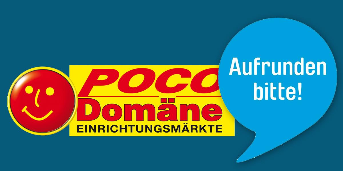 Aktion Deutschland Rundet Auf Angela Roy Bei Poco Domäne An Der