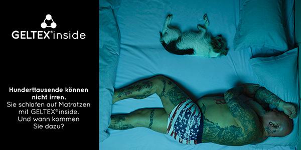 schlaraffia die neue geltex inside werbekampagne ist gestartet. Black Bedroom Furniture Sets. Home Design Ideas