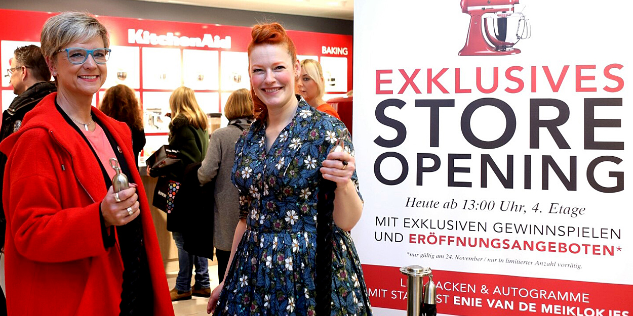 KitchenAid Zweitgrößter Store Europas im KaDeWe