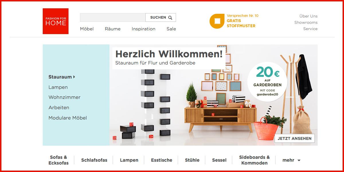 online shops des jahres vier m belshops in den top ten fashionforhome ist klassenbester. Black Bedroom Furniture Sets. Home Design Ideas
