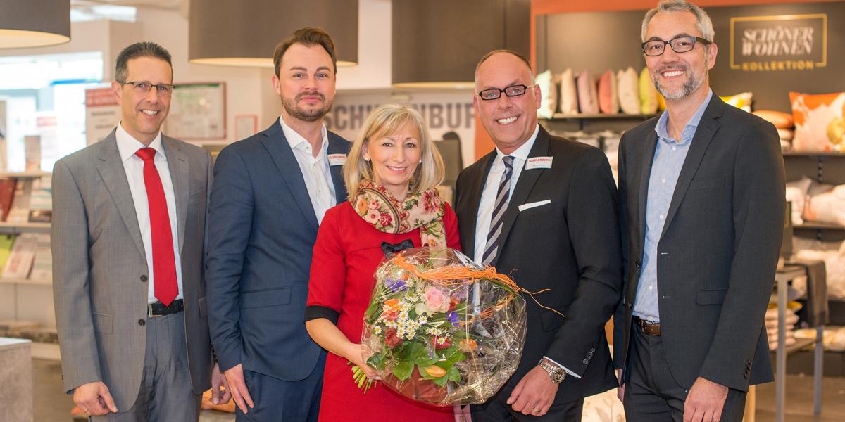 sch ner wohnen kollektion erster shop in shop bei schulenburg in halstenbek. Black Bedroom Furniture Sets. Home Design Ideas