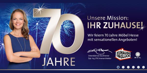 643cd0ec6a438d Möbel Hesse - Heute VIP-Event zum 70. Geburtstag - moebelkultur.de