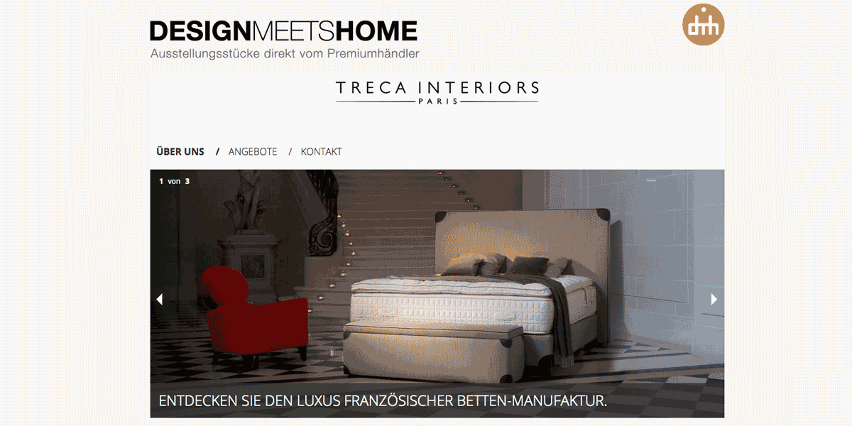 design meets home partnerschaft mit treca interiors paris. Black Bedroom Furniture Sets. Home Design Ideas