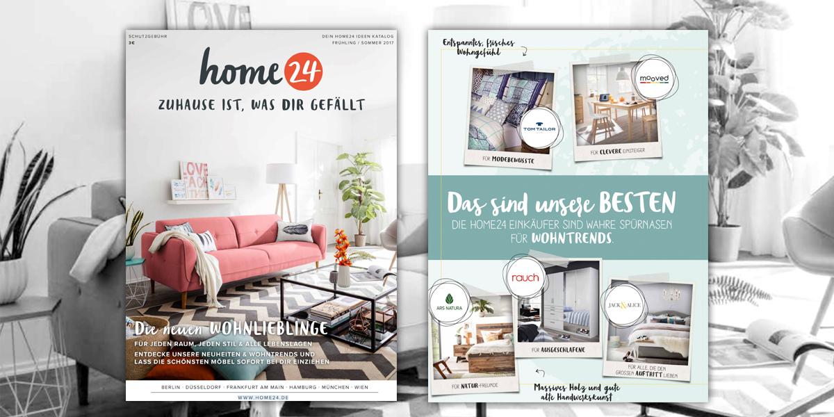 Home24 Neuer Katalog Für Frühlingsommer 2017 Moebelkulturde