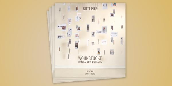 """Butlers Katalog butlers - neuer """"wohnstücke""""-katalog mit partnershop-sortiment"""