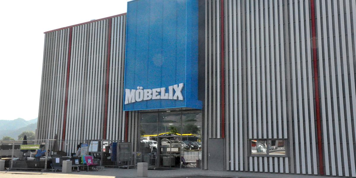 Lutz Gruppe 52 Möbelix Filiale In österreich Am Netz