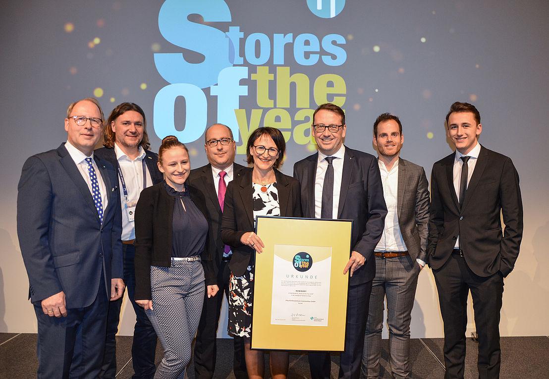 Stores of the Year - Horst gewinnt ersten Preis - Küchen Frey