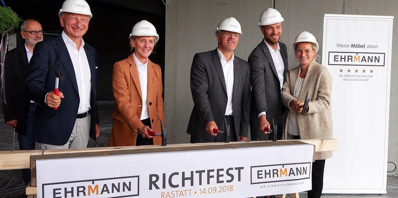 Möbel Ehrmann Richtfest In Rastatt Moebelkulturde