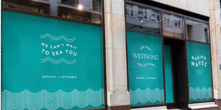 westwing pop up store in hamburg er ffnet. Black Bedroom Furniture Sets. Home Design Ideas