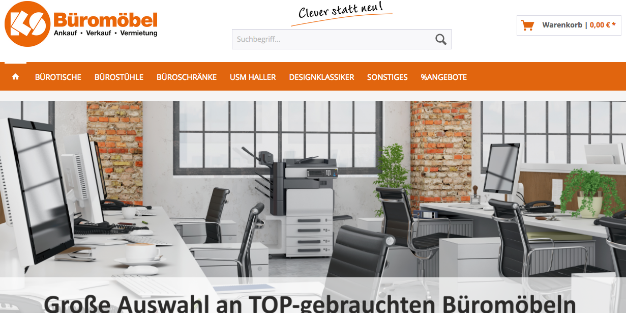 Ks Buromobel Onlineshop Fur Gebrauchte Buromobel Am Start