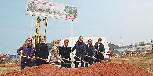 Möbel Martin Spatenstich In Saarbrücken Moebelkulturde