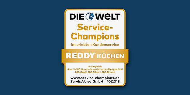 Reddy Küchen - Erneute Service-Auszeichnung - moebelkultur.de