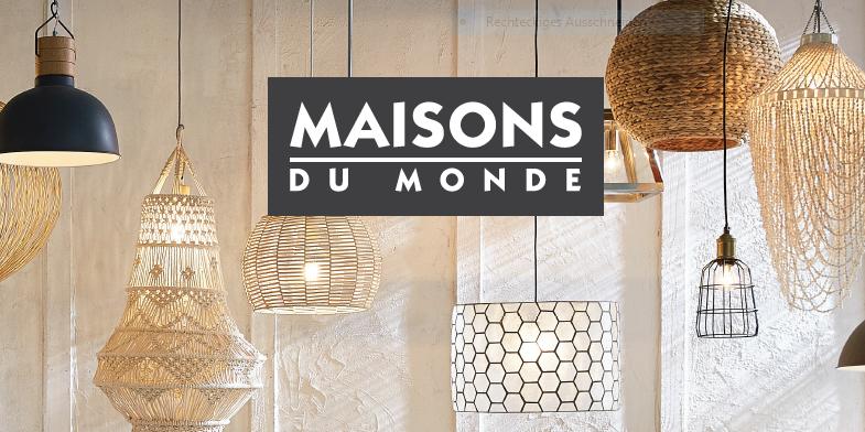 Maisons du Monde - Erster Katalog zum Thema Lampen ist auf dem Markt ...